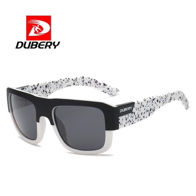 DUBERY Mirror Polarized Sunglasses Men Square Sport Sun Glasses For Men Women High Quality 2017  Luxury Brand  Designer