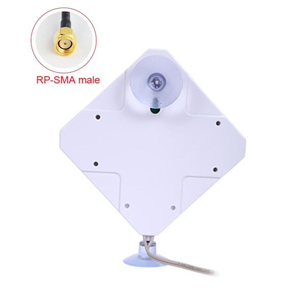 Hot Sale 3G 33DBi 1880-1920/1990-2170MHZ RP-SMA mail Antenna for 3g modem and external antennaFree Shipping
