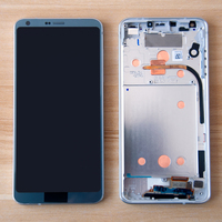 Mobile Phone LCD For LG G6 H870 H871 H872 LS993 VS998 LCD Display Touch Screen Assembly Digitizer Frame For LG G6 LCD Display