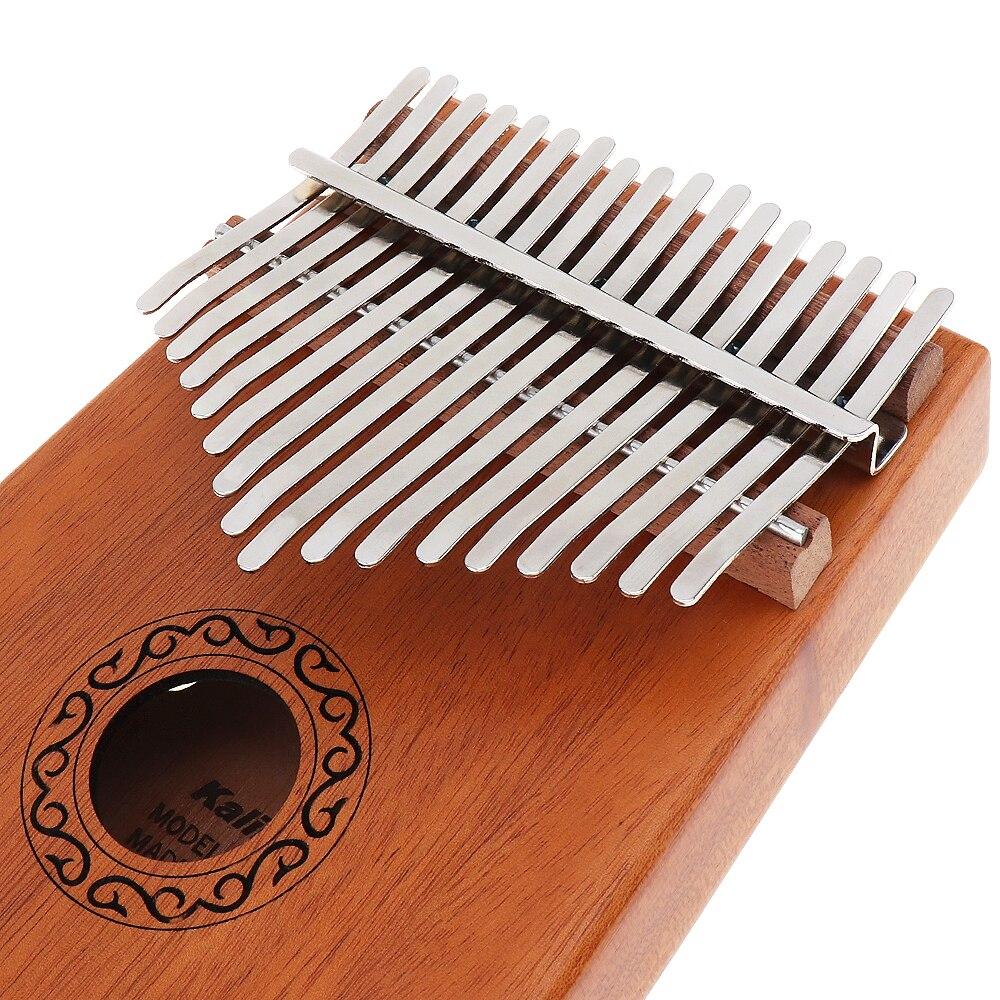 17 Key Finger Kalimba Mbira Sanza Thumb Piano Pocket Size Beginners Supporting Bag Keyboard Marimba Wood Musical Instrument in Piano from Sports Entertainment