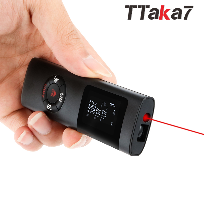 TTAKA7 construction laser rangefinder underground laser measure distance meter electronic mini tape measure laser range finderTTAKA7 construction laser rangefinder underground laser measure distance meter electronic mini tape measure laser range finder