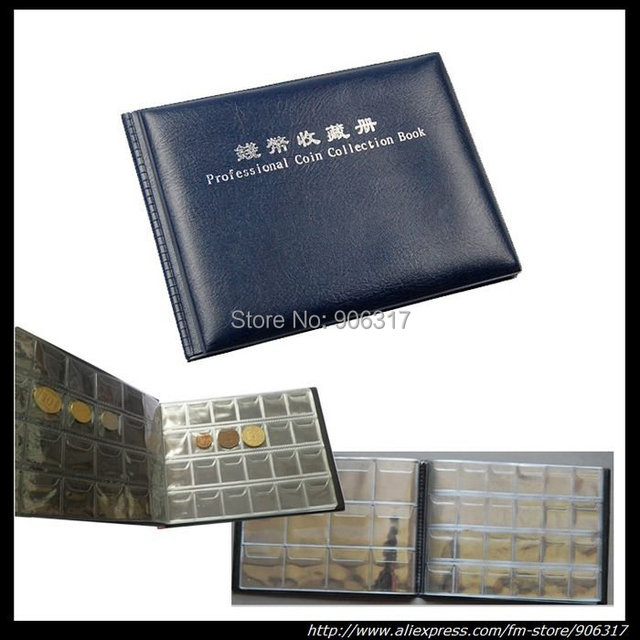 PCCB 240 openings World coin stock collection coin holders protection album