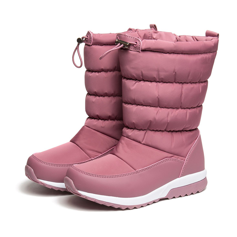 FLAMINGO Winter Orthotic Arch Waterproof Wool Warm High Quality Kids Shoes Anti-slip Size 32-37 Snow Boots for Girl 82D-NQ-1036