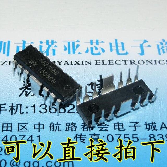 10pcs/lot KA2206B KA2206 DIP 12 In Stock