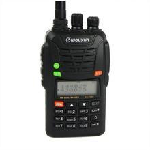 Wouxun KG-UV6D Dual Band VHF/UHF Profesyonel FM İki yönlü Radyo Patlama Sesi/LAMBA/SOS jambon CB radyo WOUXUN KG UV6D Walkie Talkie