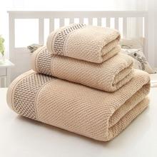 Fashion High Quality Bath Towel Cotton Towels Gym Sport Set Towl Hotel Beach Bathroom Towels Christmas Gift