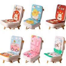 Детское кресло-бустер, детское кресло-бустер, накидка, детское кресло для столовой, мягкая кожаная подушка, подушка, безопасное кресло, портативное детское сиденье