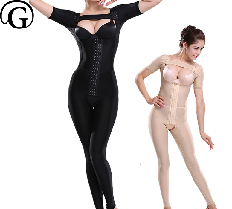 Women Sculpting Body Shaper Recovery Corset Bras Lifter Bodysuits Slimming Belly Trimmer Underwear