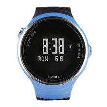 EZON умный спортивные часы мужчины смотреть водонепроницаемый GPS позиционирования таблицы бегунов G1 Цифровой Наручные Часы