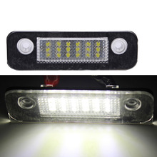 1 пара номерной знак света лампы накаливания для форт Fiesta MK5 5 Fusion MK2 2 Светодиодный ST для Mondeo MK2 (V-030702)