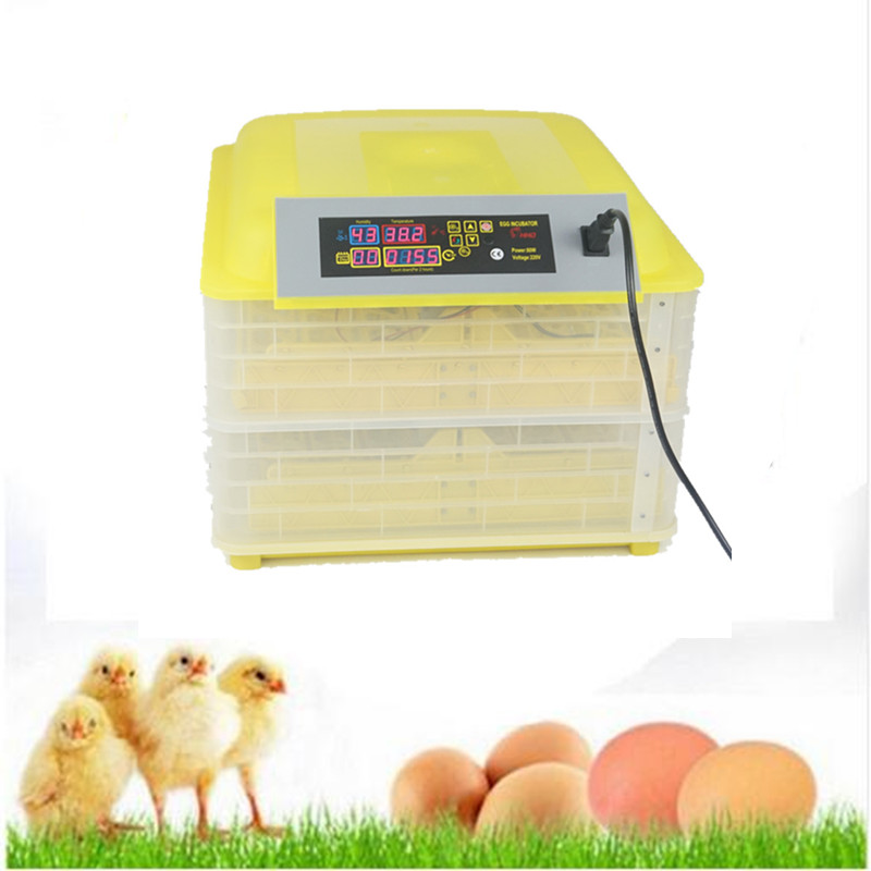 Mini automatic egg-turning chicken incubator egg incubator hatchery price china incubator sale small chicken poultry hatchery machines 48 automatic egg incubator 220v hatching for sale