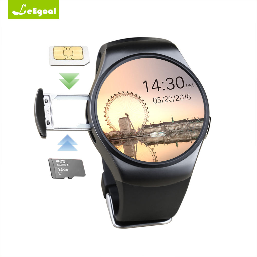 Genuine KW18 Bluetooth Smart Watch Full Screen Support SIM TF Card Smartwatch Phone Heart Rate Monitor for ios Andriod Phone kw18 smart watch bluetooth inteligent smartwatch support sim heart rate monitor clock