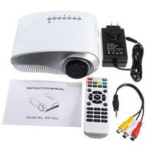 3D Full HD 1080P Mini Projector LED Multimedia Home Theater USB VGA Multi-interface Input HDMI TV AV Portable Projector