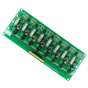 Image 2 - 8 Ch channel AC 220 V 3 V 5 V 8 channel optocoupler isolation Tests board isolated detection Tests er PLC processors module