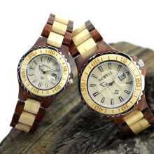 BEWELL Watch Men Quartz Business Men Watch Casual Watch Date Women Lovers Couple 30m Waterproof Wristwatch with Box 100B