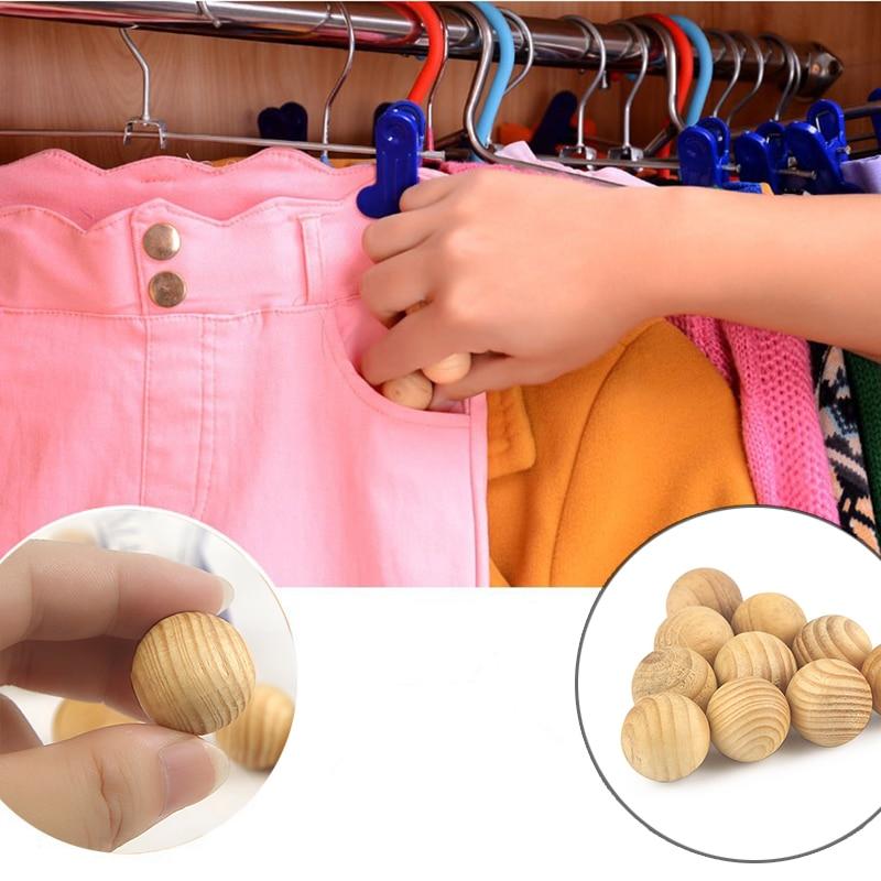 New 20pcs bag Natural Mothballs Anti mold Moth Repellent Camphor