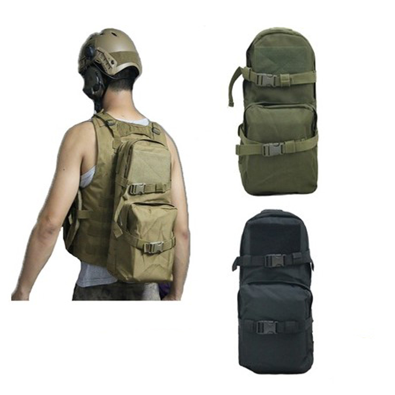 TAK YIYING Outdoor Sport Molle Tactical Hydration Packs bag Bladder Pouch for Hunting Army Bag Cycling Backpack Pouch