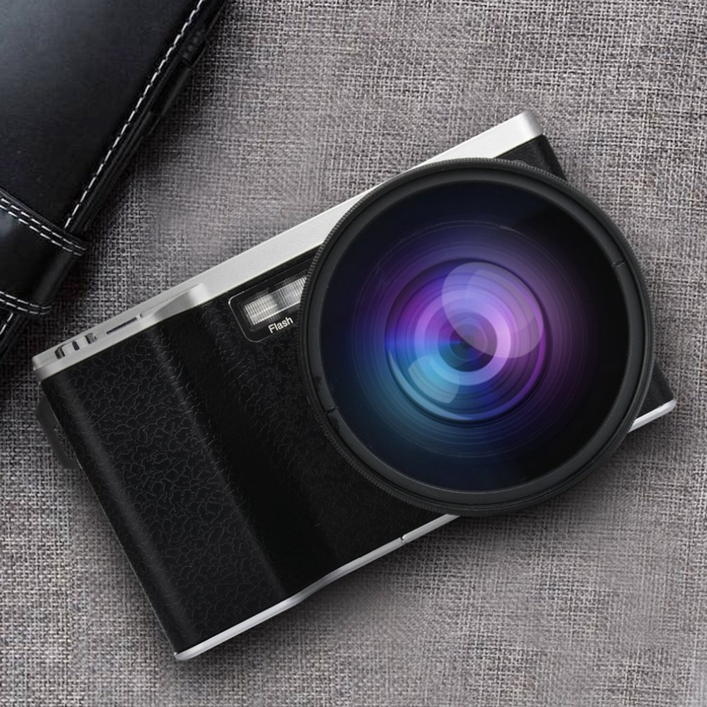 4 Inch Ultra High Definition 24 Million Pixel 1080p 12x Optical Zoom Wide Angle Micro Single Camera Ips Touch Screen Slr Camer(China)