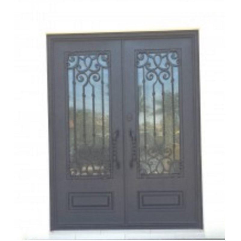 Hench 100% Steels Metal Iron Front Entry Steel Doors For Sale