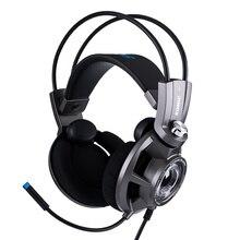 Somic g954 fone de ouvido para jogos de vibração 7.1 virtual surround usb fones de ouvido para jogos com microfone para computador laptop gamer