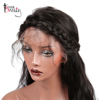 Pre Plucked Full Lace Human Hair Wigs For Women 180% Density Brazilian Body Wave Remy Ever Beauty Hair Natural Black