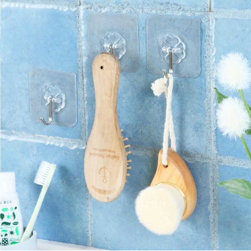 Wieszaki ścienne haki 5 sztuk kwiat kształt łazienka okno żelaza hak próżniowy PVC Sucker kuchnia akcesoria silne, trwałe, gospodarczej