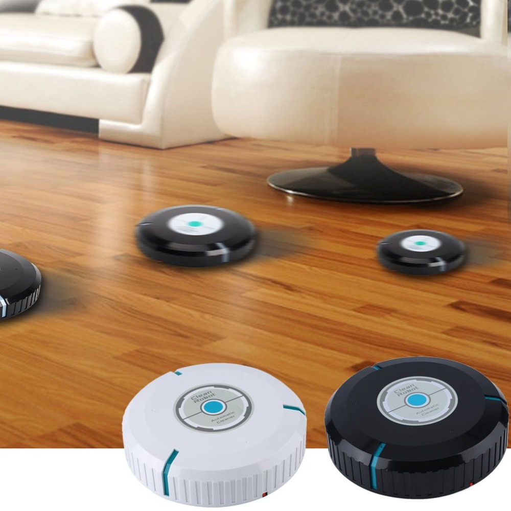 Automatically Cleaner Robot Microfiber Smart Sweeping Robotic Mop Dust Cleaner Floor Corners Crannies Cleaning Household Sweeper