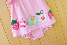 Baby Girl Summer Cotton Rompers