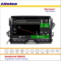 Liislee Car Android GPS Nav Navigation System For Toyota Mark X / Reiz 2010~2016 Radio Stereo Audio Multimedia ( No DVD Player )