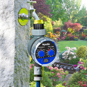 Image 2 - 2pcs Aqualin Smart Ball Valve Watering Timer Automatic Electronic Home Garden for Irrigation Used in the Garden , Yard #21025 2