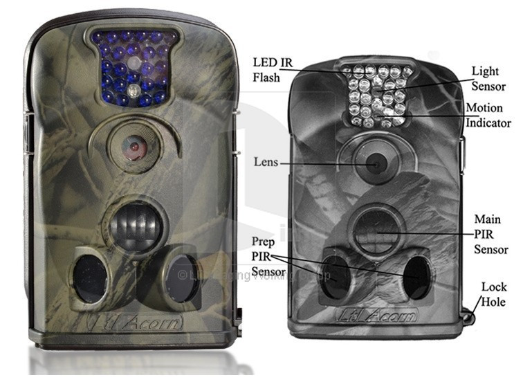 New LTL Acorn 5210A Little Acorn LTL 5210A 940nm 12MP MMS Digital Mobile Scouting Hunting font