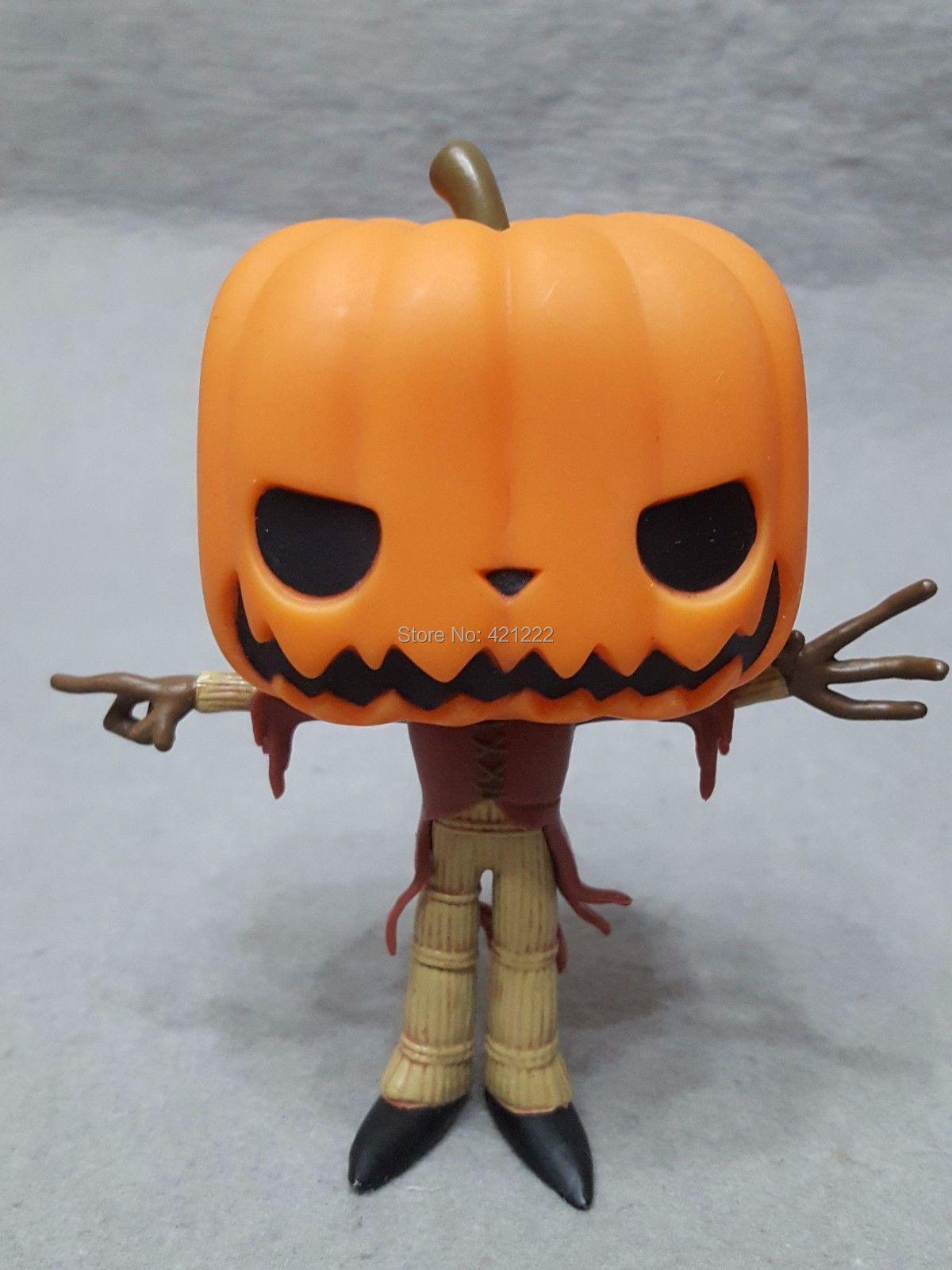 NO BOX ORIGINAL FUNKO POP! Pumpkin King Nightmare Before Christmas ...