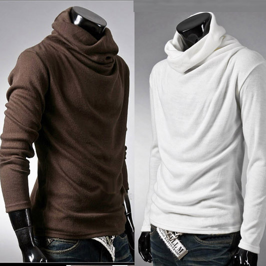 Compare Prices on Men Turtleneck Shirts- Online Shopping/Buy Low ...