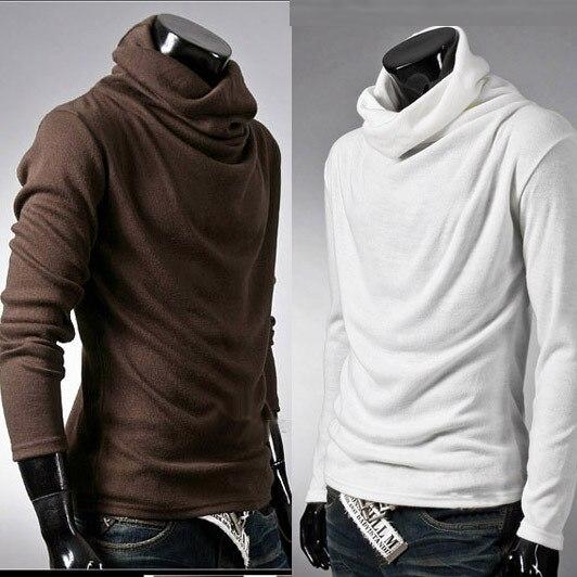Mens T Shirts Fashion 2015 Cotton Bottoming Shirt Long Sleeve ...