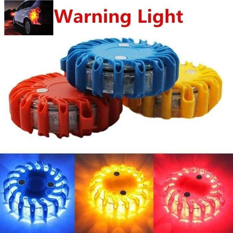 Warning Strobe Light LED Magnetic Beacon Emergency Flashing Barricade Light Roadblock Traffic Light For Cars Trucks Vigilance