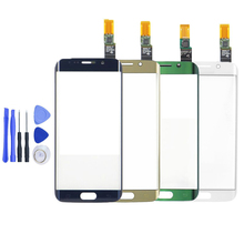 Touch Screen Digitizer For Samsung Galaxy S6 Edge G9250 G925 G925F Touch Sensor Glass Panel Replacement+Free Tools,Free Shipping