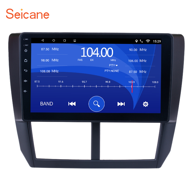 Seicane 9 Inch Android 6.0 Car Multimedia Player For 2008 2009 2010 2011 2012 Subaru Forester Support Steering Wheel Control dasaita android 8 0 autoradio for mazda 6 nvaigation 2006 2007 2008 2009 2010 2011 2012 support steering wheel control 1080p dab