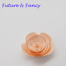 Buy small paper flowers and get free shipping on aliexpress 1 piece 10cm cardstock personalized small paper flower for wedding backdrops windows display kids room mightylinksfo Choice Image