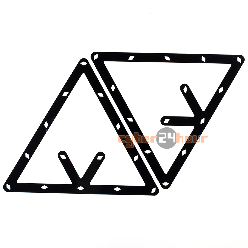 High Quality 6pcs 9 and 10 Ball Magic Rack Holder Billiard Table Pool Cue Accessory Black Free Shipping!
