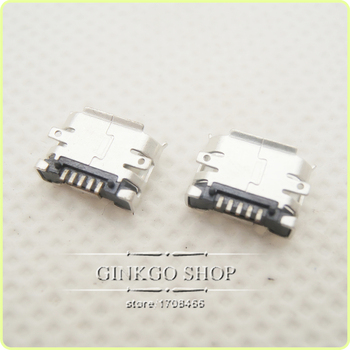 Mobile Phone Micro USB SMD 5P jack plug tail 5 pin data interface Connector
