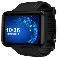 Domino dm98 smart watch android 4.4 teléfono smartwatch bluetooth 4.0 MTK6572 2G 3G Reloj WiFi 512 MB 4 GB GPS Reloj PK LEM4