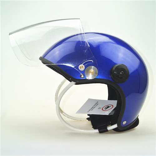 EN966 PPG helmet /Paramotor helmet/ Powered Paragliding Helmet GD-C without headset blue colour free shipping