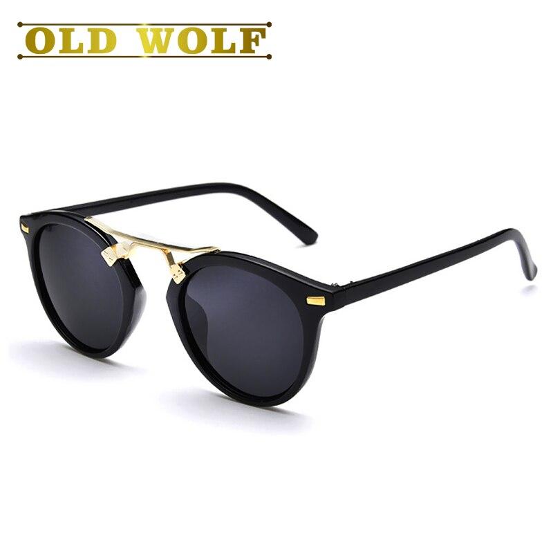 Sonnenbrille im retro-stil q7ke8