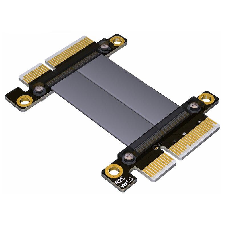 PCIe 3.0 x4 to x4 Male to Male Cable 32G/bps PCI-E 4x GTX1080Ti Graphics SSD RAID Extender Conversion CablePCIe 3.0 x4 to x4 Male to Male Cable 32G/bps PCI-E 4x GTX1080Ti Graphics SSD RAID Extender Conversion Cable