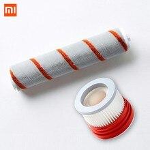 Novo xiaomi dreame v9 parte pacote handheld aspirador de pó kits peças reposição hepa filtro macio fluff escova rolamento escova