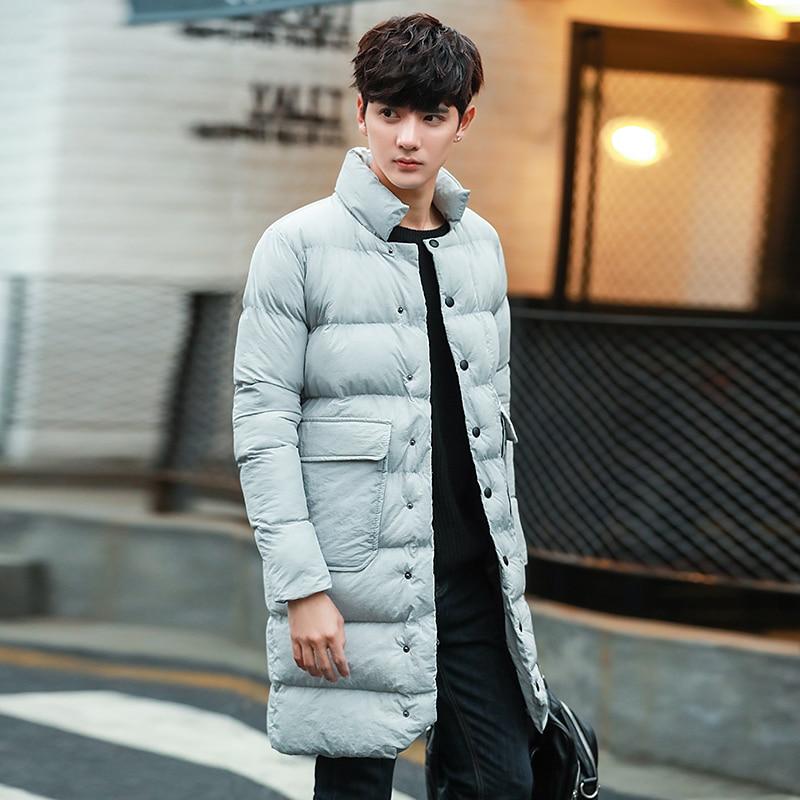 ФОТО NEW Warm  Long Winter Jacket Men Cotton Down Winter Jackets Men Winter Coat Men Plus Size 4XL 5XL XXXL