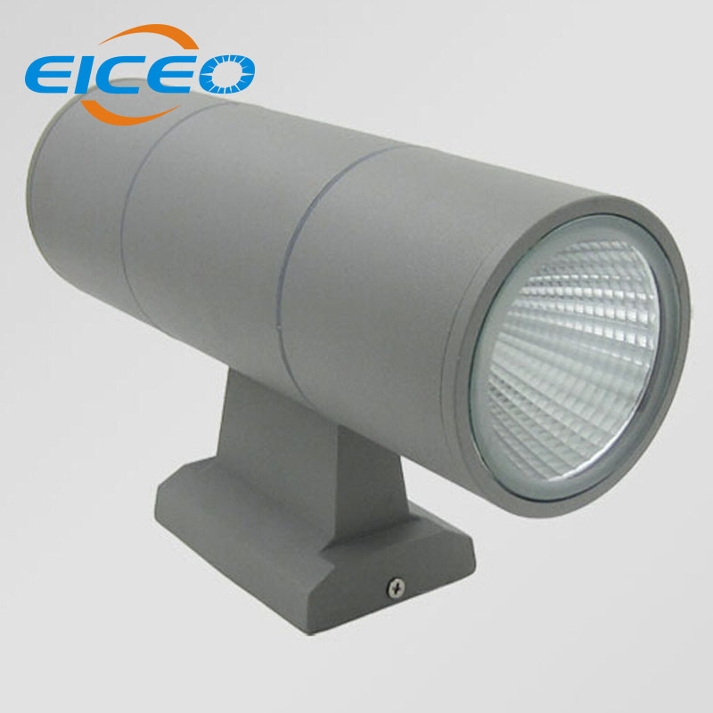 (EICEO) 2*15W COB LED Wall Light Waterproof Outdoor Garden Wall Lamps Warm White Cool White Up Wall Porch Light Corridor Lamps eiceo hot one side light led wall lamp outdoor waterproof porch garden wall lighting bulkhead gray black free shipping lamps