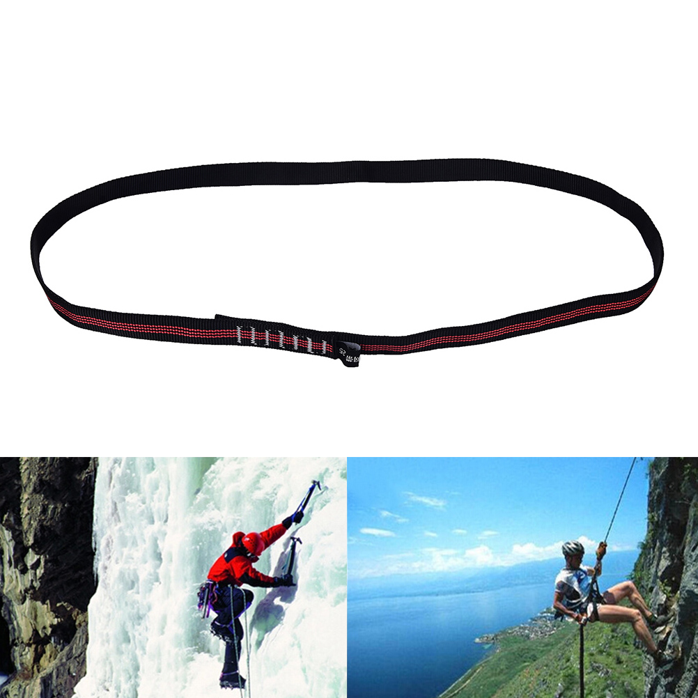 25KN 60cm Durable Sling Bearing Strap Flat Belt Climbing Accseeories Rope Load-bearing Bandlet  For Rock Climbing
