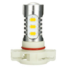Car H16 LED Fog Light Bulb 15SMD DRL Daytime Running Light Auto LED Lamp Bulb Amber(China)