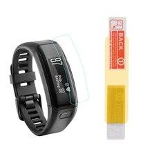2 шт. защитная пленка tpu браслет полный Экран протектор для часы Garmin vivosmart HR